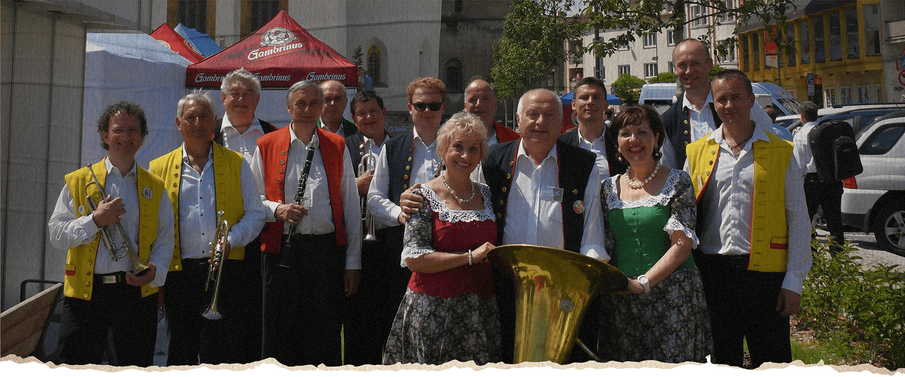 Veselka und Ladislav Kubes