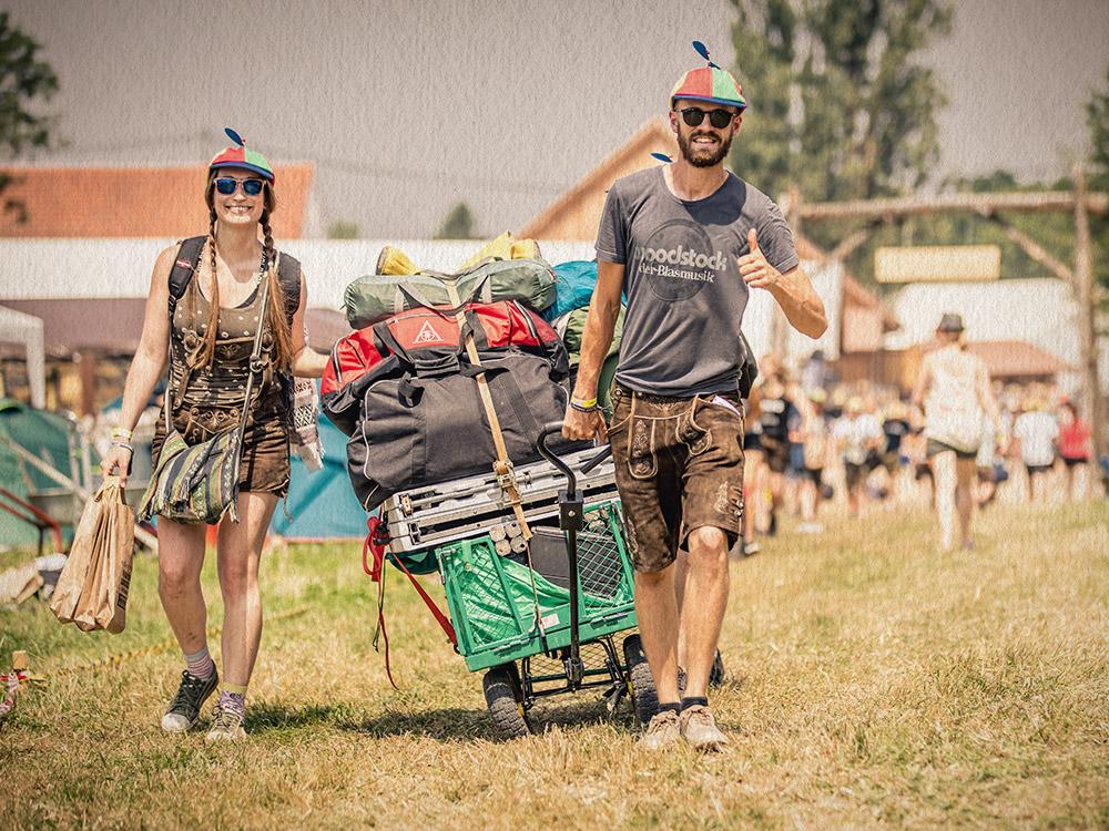 Camping restlos ausverkauft