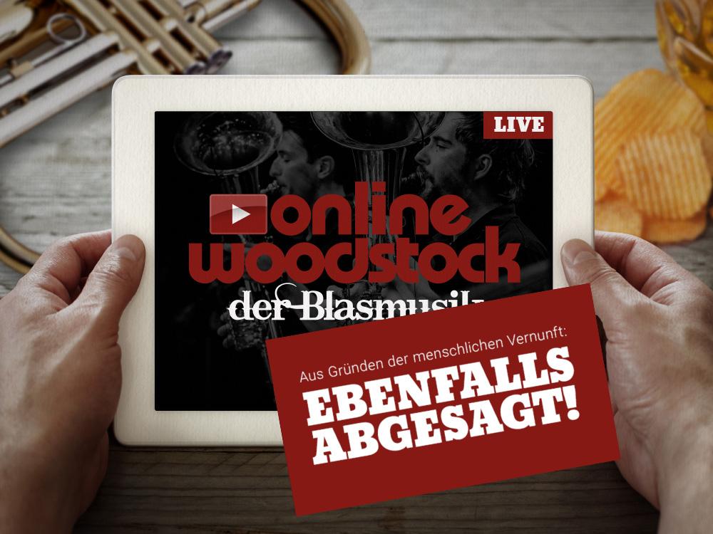 Online-Woodstock abgesagt