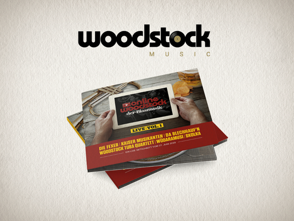Online-Woodstock der Blasmusik Live Vol.1