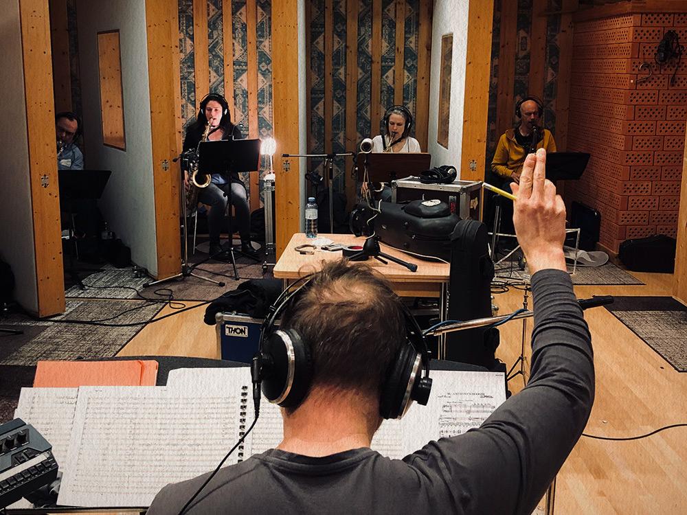 Allstars in the Studio