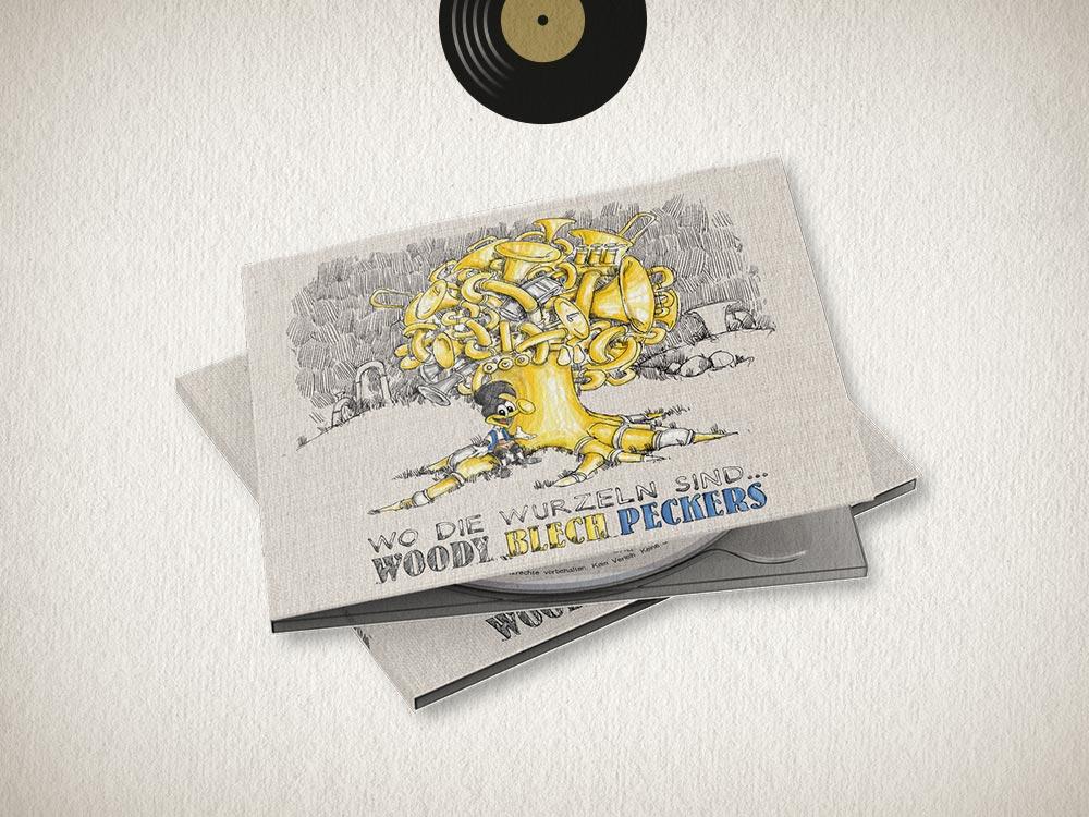 Woodyblechpeckers: Wo die Wurzeln sind